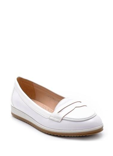 Derimod Klasik Ayakkabı Beyaz
